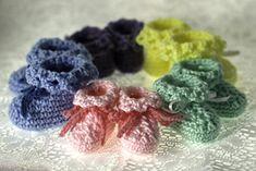 Baby Booties Crochet pattern by Susan Lowman Christmas Knitting Patterns, Crochet Patterns, Crochet Gifts, Free Crochet, Crochet Baby Booties, Newborn Crochet, Universal Yarn, Baby Scarf, Sport Weight Yarn