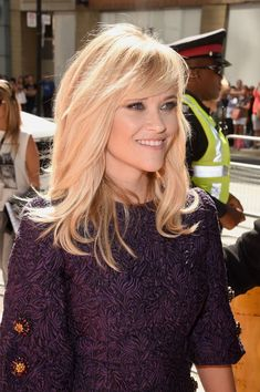 Reese Witherspoon Photos: The Good Lie Premiere - Arrivals - 2014 Toronto International Film Festival Reese Witherspoon Photos - Actress Reese Witherspoon attends Medium Hair Styles, Short Hair Styles, 1930s Hair, Long Layered Hair, Hair Restoration, Hair Affair, Great Hair, Hair Dos, 4c Hair