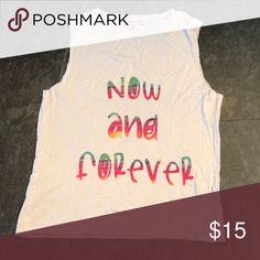Girls Tank Top Girls size L Tank Top. Brand New agree2disagree Shirts & Tops Tank Tops