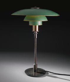 "Poul Henningsen ""PH"" TABLE LAMP WITH TYPE 4/3 SHADES, ca. 1933"
