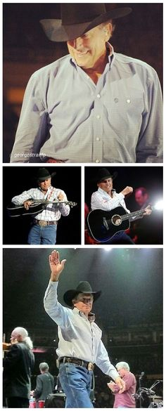 George Strait Songs | Cowboy Rides Away Tour. I love Country Music | Country Music Videos at Country Rebel >> http://countryrebel.com/search?q=garth