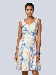 Alba Moda Druckkleid im exklusiven Alba Moda Print Alba Moda, Boho Chic, Summer Dresses, Casual, Style, Fashion, Short Summer Dresses, Elegant Dresses, Fall Shopping Outfit