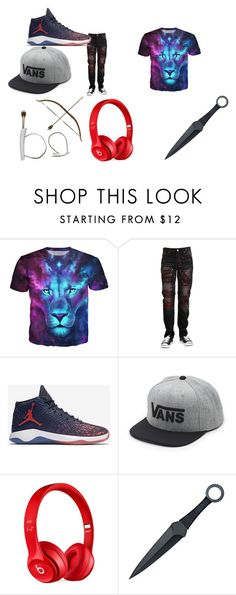 """Deadshadow"" by explorer-14484921021 on Polyvore featuring NIKE, Vans, Beats by Dr. Dre, men's fashion and menswear"