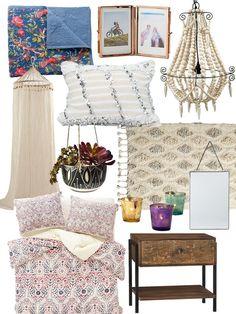 Create the Look: Artful Bohemian Bedroom Shopping Guide