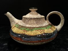 Rare Royal Doulton Deadwood Crackle Teapot c1911 in great condition | eBay