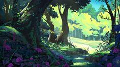 ArtStation - Forest, Mathias Zamęcki
