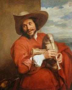 Antonis van Dyck (Sir Anthony van Dyck) Francois Langlois  #17th #Classic #Painting Sir #Anthony van #Dyck