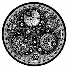 "Title: ""Interstellar"" // Mandala Art by Oksana Stepanova"