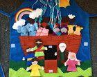 Avental História Bíblica Arca de Noé