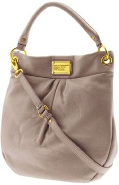 Marc by Marc Jacobs Classic Q Hillier Hobo Bag, Hazelnut