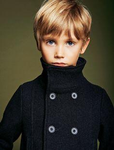 Armani Junior wool pea coat