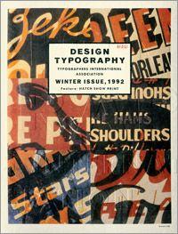 Hatch Show Prints Brochure