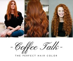 Natha Holmgren - Coffee Talk: Coffee Talk - The perfect hair color