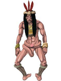 Kurupi, deus da sexualidade e fertilidade