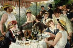 Tekne Gezisinde Öğle Yemeği The Luncheon of the Boating Party - Pierre Auguste Renoir 1880 Pierre Auguste Renoir, Manet, Impressionism, Party, Painting, Boating, Passion, French, Ships