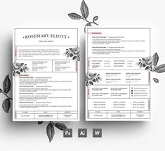 Welcome to EmilyARTboutique! Here you will find a wide range of awesome and creative resume templates that will be a perfect fit for any business field and profession! ▬▬▬▬▬▬▬▬▬▬▬▬▬▬▬▬▬▬▬▬▬▬▬▬▬▬▬▬▬▬▬▬▬ You will receive a full package resume, which contains 3 PAGES, the package