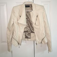 BLANKNYC NORDSTROM LEATHER JACKET! W TAGS Never worn still has tag! Paid over 100 dollars but doesn't fit Blanknyc Jackets & Coats