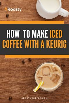 If you're trying to avoid paying money for an iced coffee when you already have a Keurig at home, you've come to the right place! It's 100% possible and surprisingly easy to do! Use our how-to guide to find out tips and tricks we've put together so you can get the most out of your home-brewed iced coffee. #coffeelovers #icedcoffee #roastycoffee #keurigcoffee Thai Iced Coffee, Vietnamese Iced Coffee, Making Cold Brew Coffee, How To Make Ice Coffee, Coffee Course, Coffee Brownies, Coffee Benefits, Coffee Is Life, Coffee Creamer