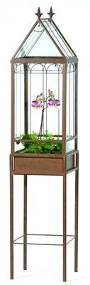 Freestanding Wardian Case Terrarium from H Potter.Not only great designs but also excellent quality and great value.