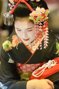 The maiko Fukuharu