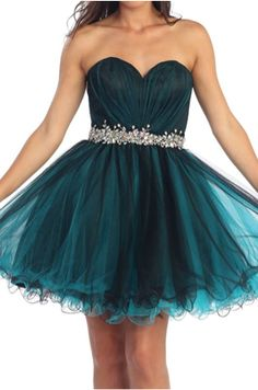 Teal formal Dresses, Homecoming Dresses, short prom dresses, party dresses, pageant dresses, fancy dresses, strapless, jewels, beading, turquoise dresses, sweetheart