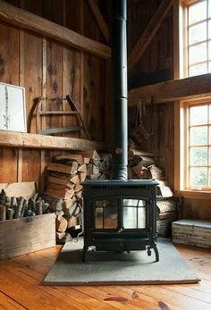Restoring the Roost: A Woodstove for the New House
