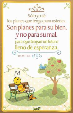 Los planes #Pechi  Jeremias 29:11
