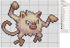 56 - Mankey by Makibird-Stitching.deviantart.com on @deviantART