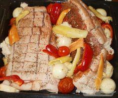 Szilveszteri malacsült Ny Food, Waffles, Sausage, Food And Drink, Meat, Breakfast, Beef, Waffle