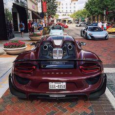 topvehicles: Porsche 918 Beauty via reddit