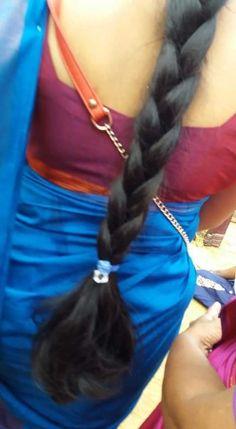 Long Hair Indian Girls, Indian Long Hair Braid, Long Silky Hair, Very Long Hair, Long Bob Hairstyles, Indian Hairstyles, Beautiful Braids, Super Hair, Beautiful Women Pictures