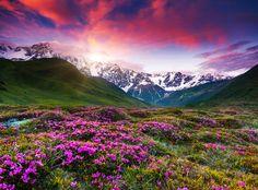 Mt. Shkhara, Upper Svaneti, Georgia #Europe