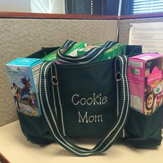 Great for delivering Girl Scout cookies! www.mythirtyone.com/lisamuniz