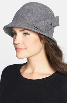 Nordstrom Bow Wool Cloche | Nordstrom