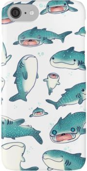 whale sharks! iPhone 7 Cases