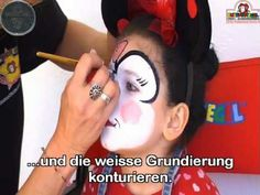 Mini Maus - Face Painting - Video