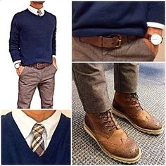 Menswear for the office. Casual and confident. Fashion Mode, Look Fashion, Mens Fashion, Fashion Outfits, Fashion Trends, Fashion Boots, Trendy Fashion, Men's Outfits, Fashion Tips