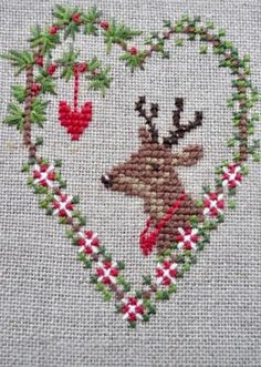 Excellent Cost-Free Cross Stitch projects Popular Due to the fact I've been corner sewing since I'm a female I in some cases believe which everybody curren Small Cross Stitch, Cross Stitch Borders, Cross Stitch Designs, Cross Stitching, Cross Stitch Heart, Embroidery Hearts, Hand Embroidery Patterns, Cross Stitch Embroidery, Ribbon Embroidery