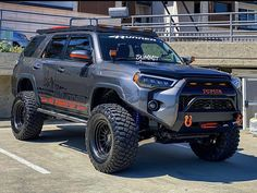 Overland 4runner, Toyota 4runner Trd, Lifted Chevy Trucks, Toyota Trucks, Toyota Runner, Truck Mods, Classic Pickup Trucks, Jeep 4x4, Sexy Cars