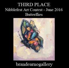 Nibblefest Art Contest: Winners for June 2016 - Butterflies!