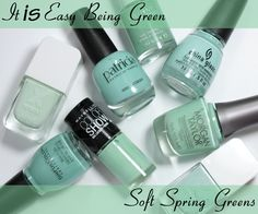 Nail The Trend – Mint Green Nail Polish for Spring