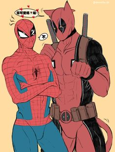 spideypool - deadpool貓 條漫。 [1]