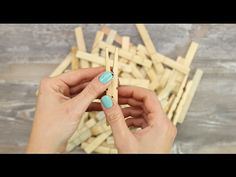How To Make A Clothespins Lamp