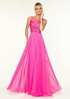 97129 Prom Dresses / Gowns Chiffon with Beaded Embroidery Hot Pink Mori Lee Prom Dresses, Prom Dresses Long Pink, Prom Dresses 2016, Beautiful Prom Dresses, Cheap Prom Dresses, Evening Dresses, Wedding Dresses, Beaded Prom Dress, Beaded Chiffon