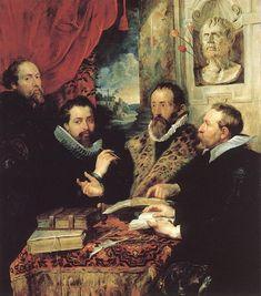 RUBENS  Los cuatro filosofos