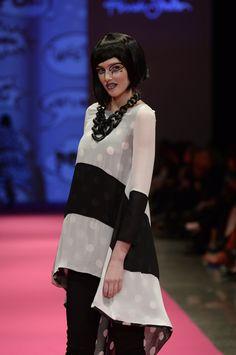 Annah Stretton Fashion  New Zealand Fashion Week 2014 All Is Pretty Pop Art  Photo Credit Brad Hicks