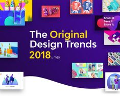 "Echa un vistazo a este proyecto @Behance:""2018 Design Trends Guide by milo"" https://www.behance.net/gallery/60599919/2018-Design-Trends-Guide-by-milo"