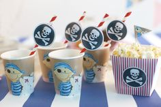 Tolle Deko-Ideen und Downloads für einen gelungenen #Piraten #Kindergeburtstag #Piratenparty | Wundermagazin