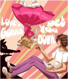 Love's gonna get you down Mika Lyrics, You Oughta Know, Alternative Music, Grace Kelly, Album Covers, Singer, Fan Art, Draw, Collages