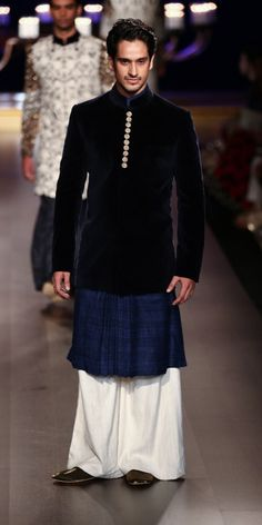 By designer Manish Malhotra. Shop for your wedding trousseau, with a personal shopper & stylist in India - Bridelan, visit our website www.bridelan.com #Bridelan #Indiangroom